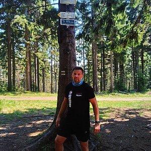 Standa na vrcholu Kobylanka (16.5.2020 12:45)