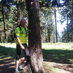 Jaroslav Hrabuška na vrcholu Kobylanka (22.5.2020 14:10)