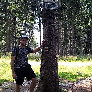 Jack Skurello na vrcholu Kobylanka (31.7.2018 12:24)