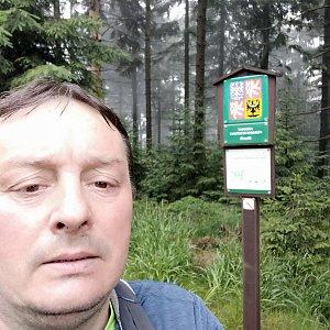 Roman Grebenar na vrcholu Kobylanka (12.7.2020 7:31)
