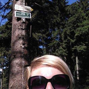 Joan na vrcholu Kobylanka (1.8.2020 16:02)
