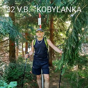 Aleš Sýkora na vrcholu Kobylanka (8.8.2020 10:49)
