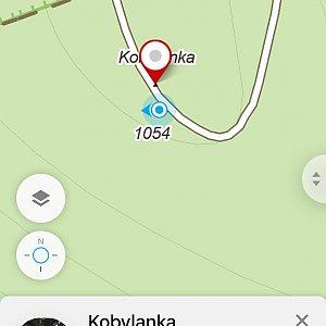Kahule na vrcholu Kobylanka (3.11.2018 14:24)
