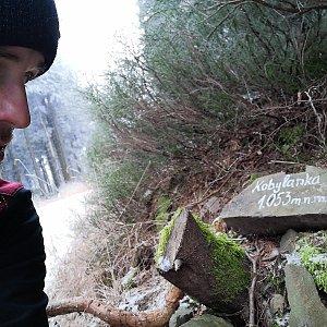 Jan Zamarski na vrcholu Kobylanka (16.12.2020 12:08)