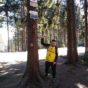 Ombre_Zamakejsi.cz na vrcholu Kobylanka (10.4.2020 12:02)