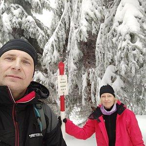 stebrony na vrcholu Kobylanka (31.12.2018 12:44)