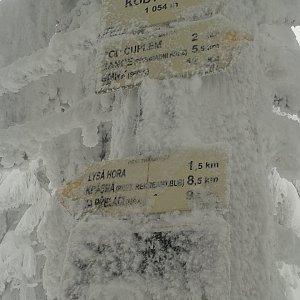 ŠenovKK na vrcholu Kobylanka (13.1.2019 12:50)
