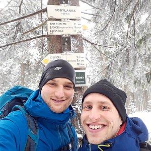 Šroťák na vrcholu Kobylanka (2.3.2019 10:02)