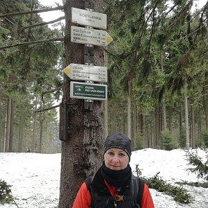 dana na vrcholu Kobylanka (9.3.2019 11:05)