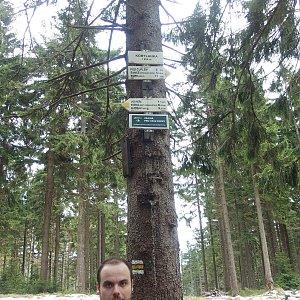 Jiří Chmiel na vrcholu Kobylanka (8.5.2019 12:58)