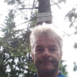 Jaroslav Macura na vrcholu Kobylanka (8.8.2021 10:39)