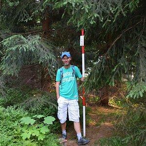 David Dudzik na vrcholu Kobylanka (17.7.2019 18:08)