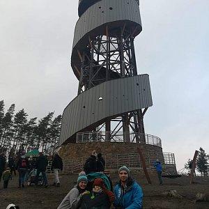 Martin Glouzar na vrcholu Velký Kosíř (1.1.2019 14:03)