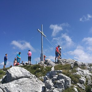 martenzites na vrcholu Grosser donnerkogel (11.8.2019 14:30)