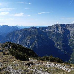Vašek na vrcholu Pfaffenstein Westgipfel (5.9.2020 18:15)
