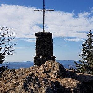 Marek Feest na vrcholu Großer Falkenstein (13.10.2019 9:56)