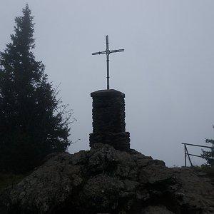 Vladimír Grančay na vrcholu Großer Falkenstein (13.9.2014 14:25)