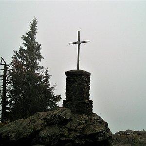 Vladimír Grančay na vrcholu Großer Falkenstein (4.10.2008 13:00)