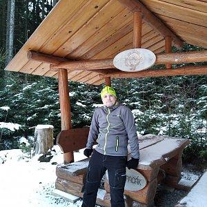 Vítězslav Vrána na vrcholu Díly (29.1.2020 15:50)