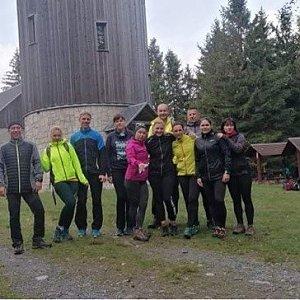Kateřina Turčeková na vrcholu Borůvková hora (11.10.2020 12:00)