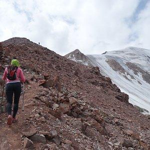 Patejl na vrcholu Petrovského štít (23.7.2018 13:00)