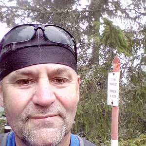 Li Be na vrcholu Žlíbský vrch (17.9.2020 12:21)