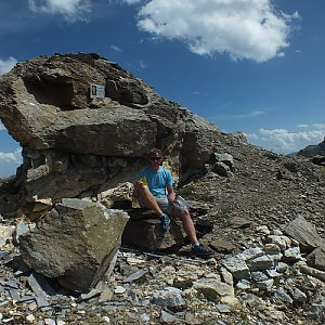 KaMo na vrcholu Bec Carre (2.8.2017 14:00)