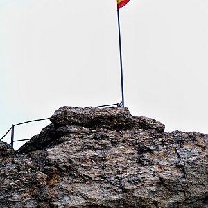 Patejl na vrcholu Bradlo (3.4.2021 8:00)
