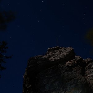Patejl na vrcholu Bradlo (20.4.2019 0:30)