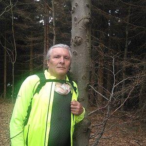 Jaroslav Hrabuška na vrcholu Nořičí hora (30.4.2020 13:59)