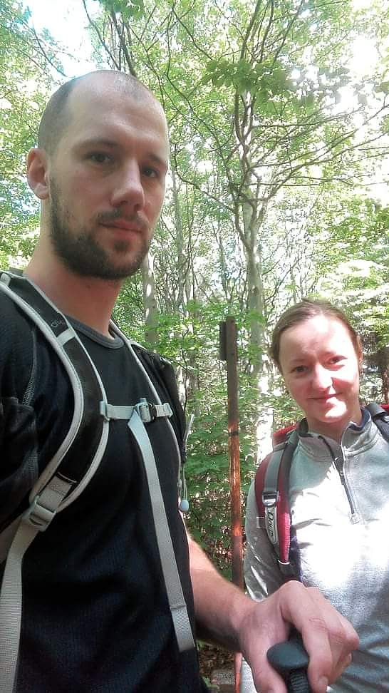 Paja&Tom na vrcholu Nořičí hora (15.7.2018 12:00)