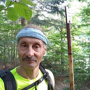 Jiří Sumbal na vrcholu Nořičí hora (18.8.2018 17:52)