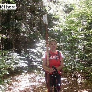Hanka na vrcholu Nořičí hora (16.7.2018 10:42)
