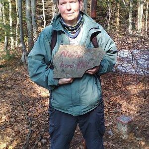 Michal Krčmář na vrcholu Nořičí hora (24.3.2019 9:48)