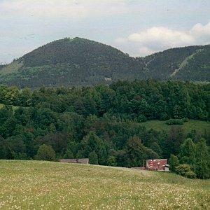 Jarda Vála na vrcholu Královecký špičák (26.5.2001)