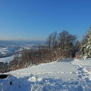 Manjula na vrcholu Královecký špičák (20.1.2019 15:02)