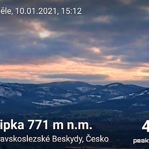 Priserka-xxl na vrcholu Filipka (10.1.2021 21:24)