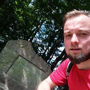 Jan Zamarski na vrcholu Filipka (7.9.2021 12:11)