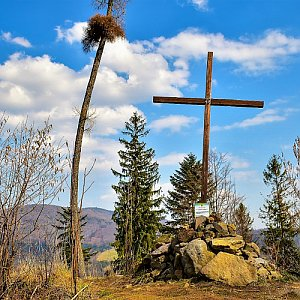 Jiřka Niedobová na vrcholu Prašivá hora (19.3.2020 14:25)