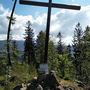 karina gasova na vrcholu Prašivá hora (4.5.2020 9:45)