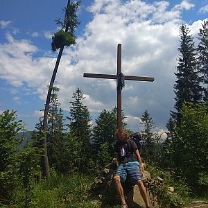 Radůza na vrcholu Prašivá hora (27.5.2018 12:46)