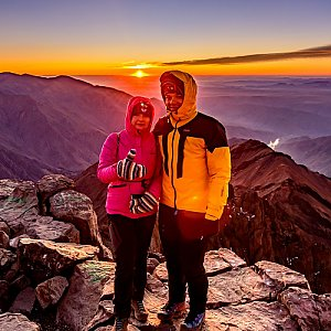 Ondřej Buček na vrcholu Jebel Toubkal (22.10.2019 8:33)