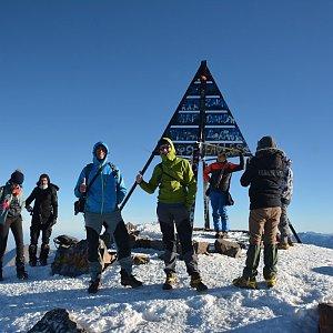 KaMo na vrcholu Jebel Toubkal (23.12.2018 9:30)