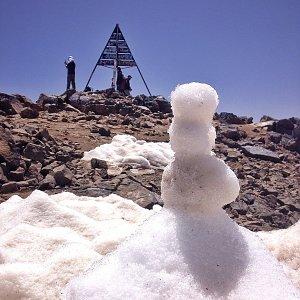 Martin Matějka na vrcholu Jebel Toubkal (17.5.2015 13:39)