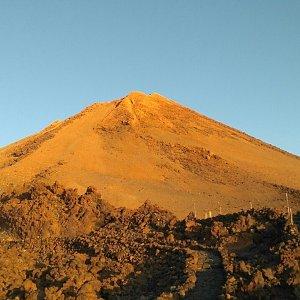 michalzhor na vrcholu Pico de Teide (28.9.2019 9:00)