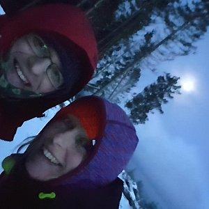 Michaela Karásková na vrcholu Lysý vrch (27.12.2020 16:32)