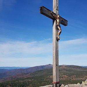Marek Feest na vrcholu Lusen (20.10.2019 10:33)