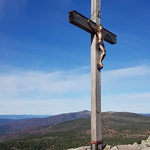Marek Feest na vrcholu Luzný / Lusen (20.10.2019 10:33)