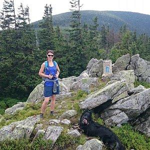 Michal na vrcholu Stroma (6.7.2017 13:26)