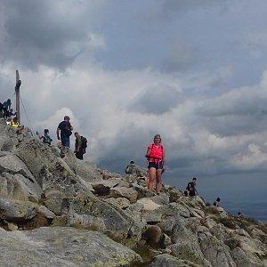 Dana na vrcholu Predné Solisko (22.7.2019 15:42)
